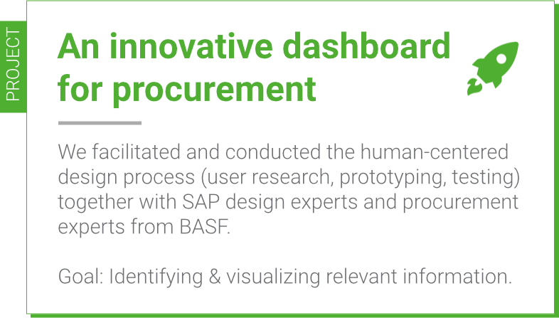 A co-creation project for SAP and BASF
