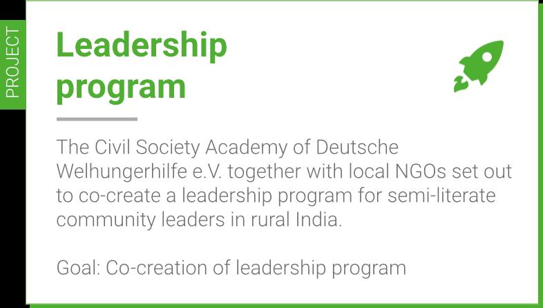 Civil Society Academy, India