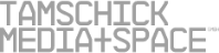 The logo of Tamschick Media and Space